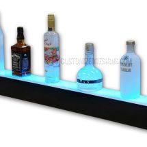 1 Step LED Lighted Liquor Shelves