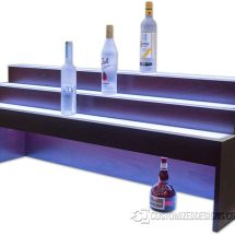 3 Tier Raised Liquor Display - 10