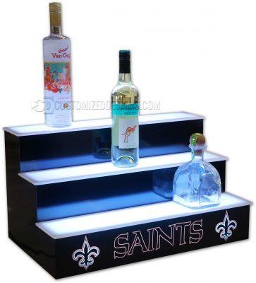 New Orleans Saints Home Bar Display
