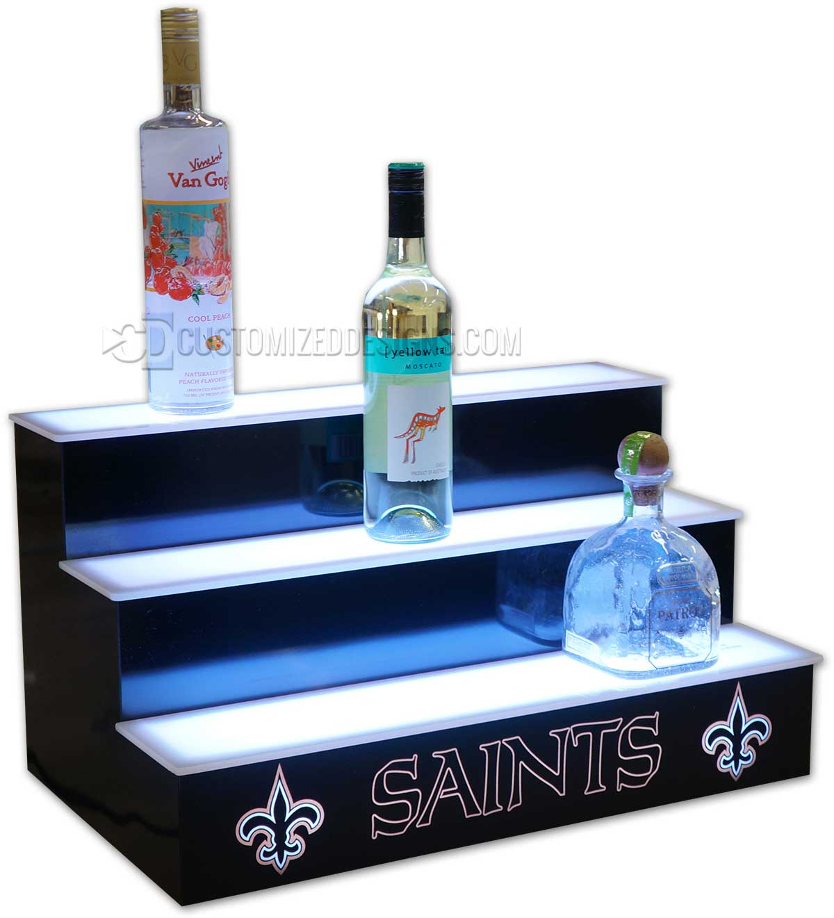 New Orleans Saints Home Bar Display