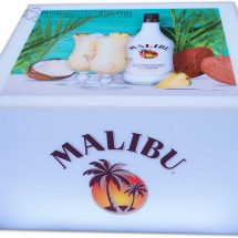 Lumen LED Coffee Table w/ Malibu Rum Branding