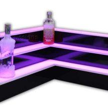 3 Tier Corner Bottle Display