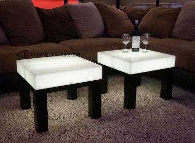LED Lighted Nightclub & Bar Tables