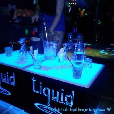 Cubix LED Lighted Tables 6