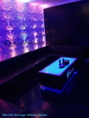 Cubix 48x24 Lighted Table