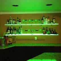 Home Bar Liquor Shelf
