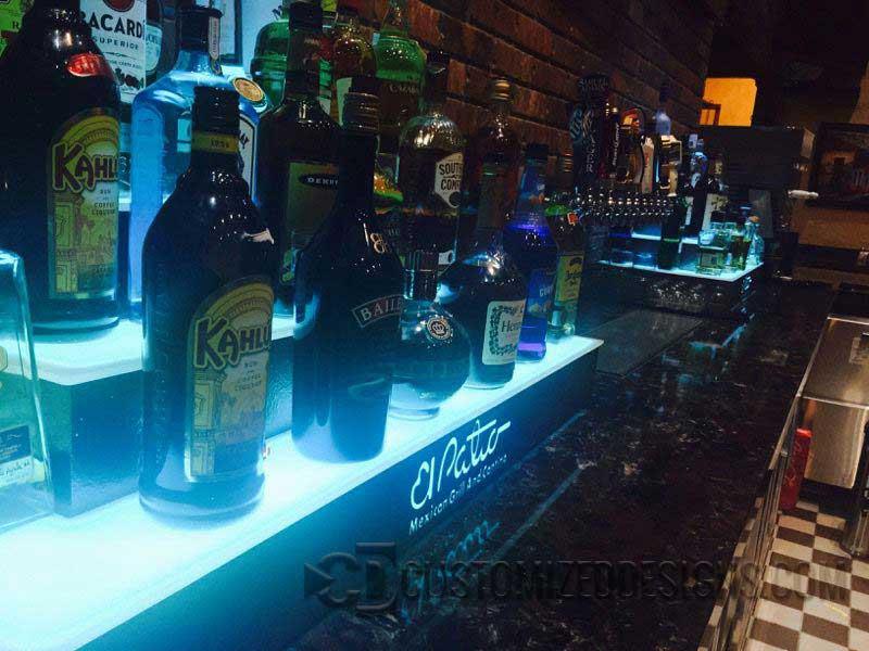 El Patio Mexican Restaurant Liquor Displays