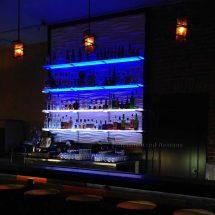 Commercial LED Bar Shelving