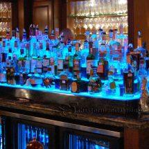 Island Style Bar Shelves