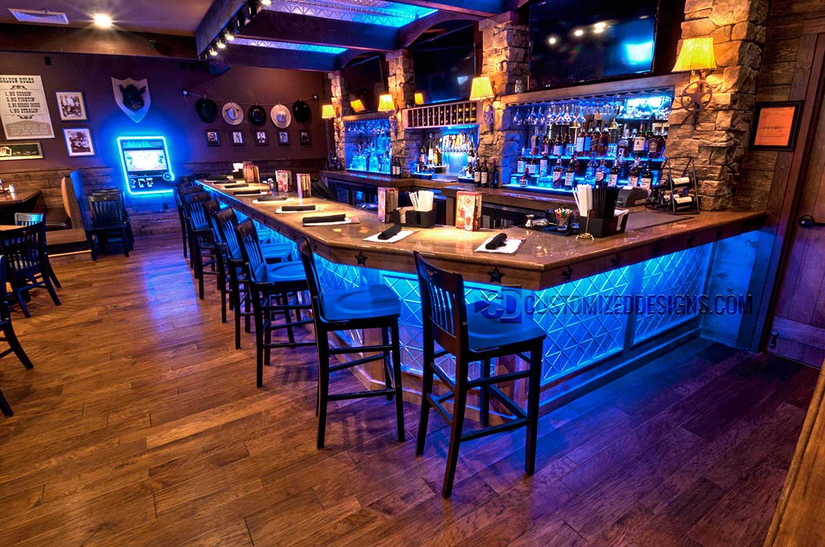 LED Back Bar Lighting