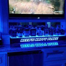 Home Bar 2 Tier Liquor Shelf