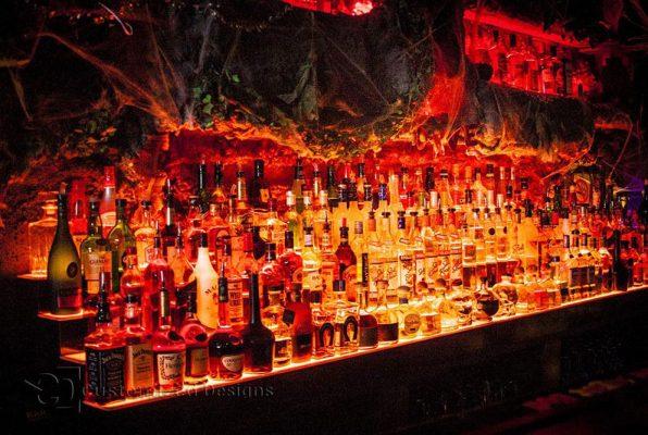 LED Liquor Shelf