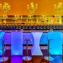 Lumen LED Lighted Bar Table