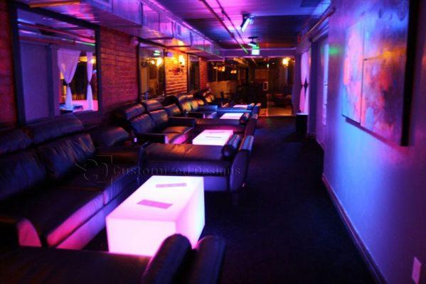 Lumen LED VIP Section Tables