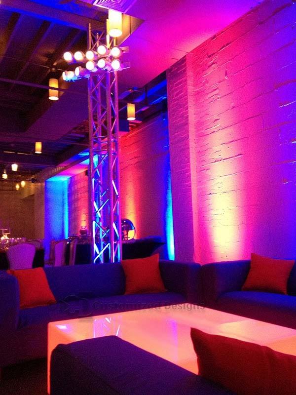 Lumen 48 x 48 LED Glow Table