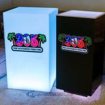Cubix LED Illuminated Bar Table 3