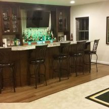 Green Bay Packers Themed Home Bar Lounge