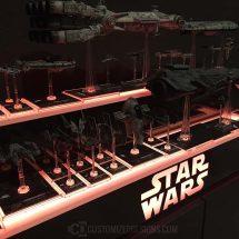 Star Wars Collectible Display