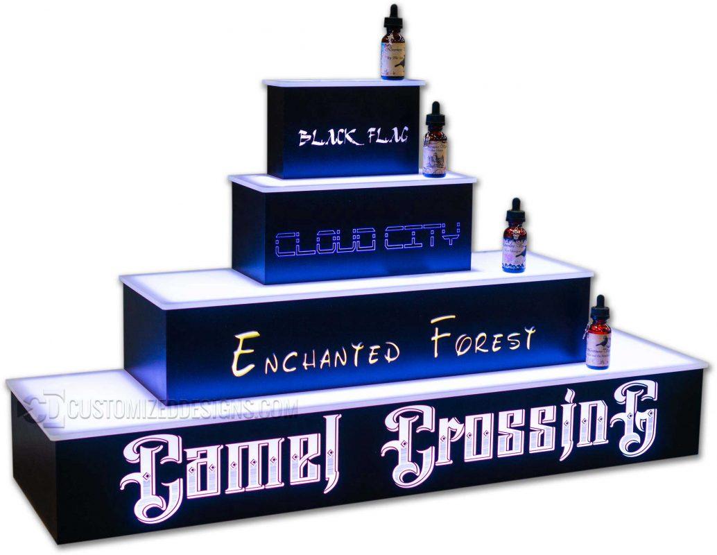 Lighted Vape & Cannabis Display