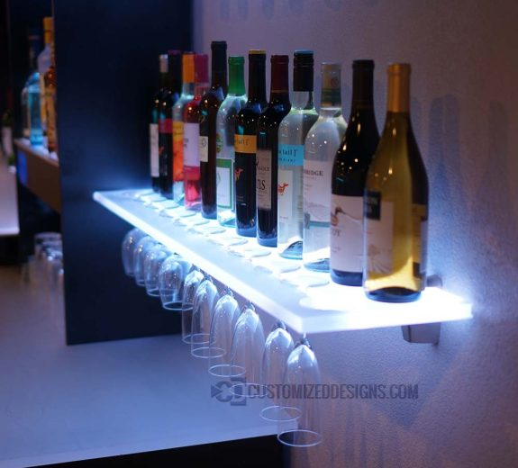 Wine Glass Shelf 4