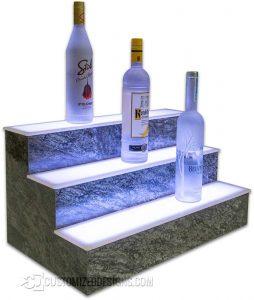 LED Display Shelving Harold Granite