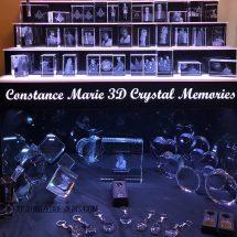 3 Tier Raised LED Crystal Display w/ 14