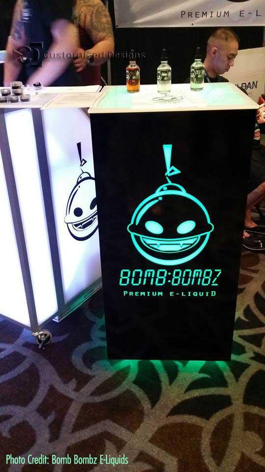 Vape Brand Cubix High Boy Table