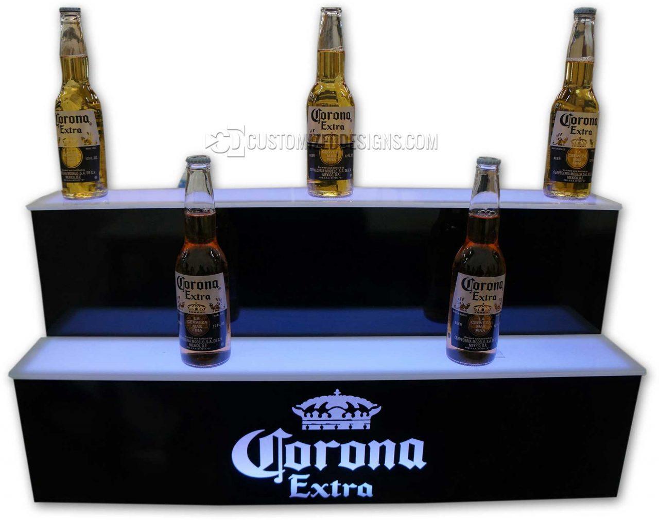 Custom Corona Beer Display w/ Custom Depth Shelving
