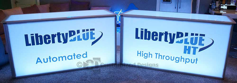 Custom Tradeshow and Convention Tables