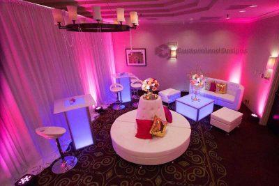 Modular LED Lighted Event Furniture