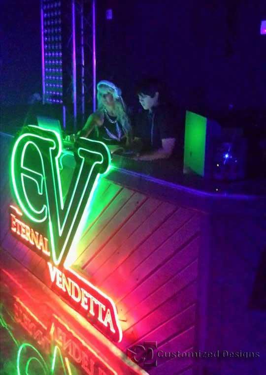 Eternal Vendetta Custom LED Sign