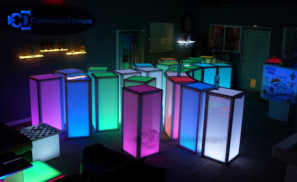 Highboy Element Modular Tables