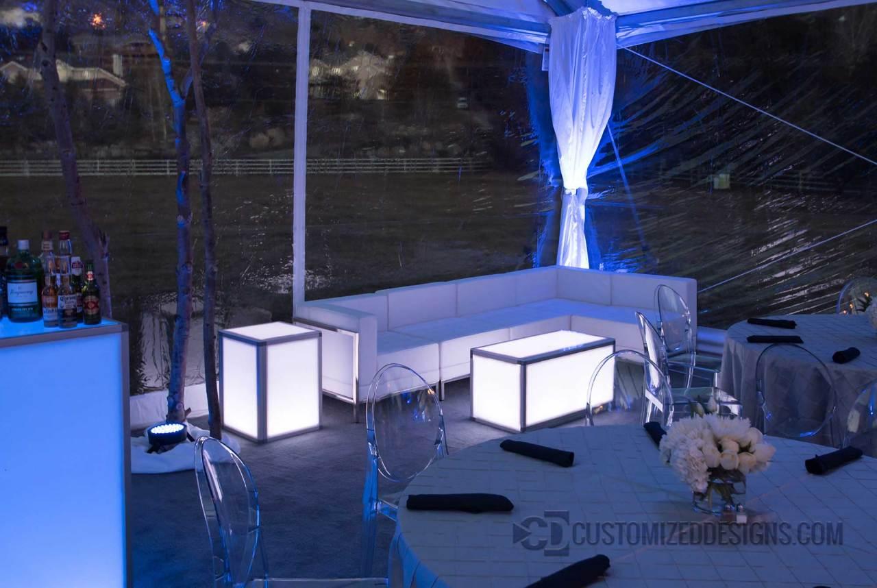 Illuminated Event Furniture