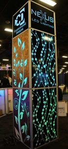 LED Lighted Special Event Column
