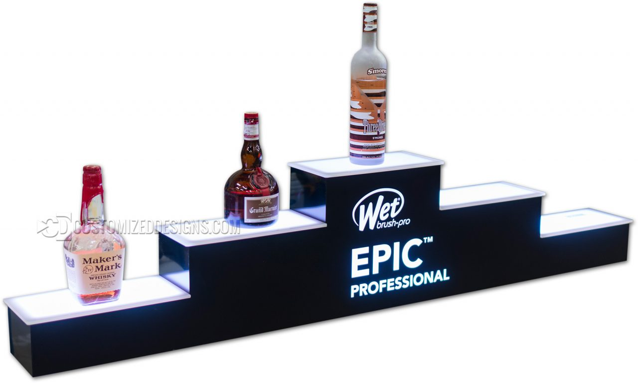 Pyramid Style Salon Products Display