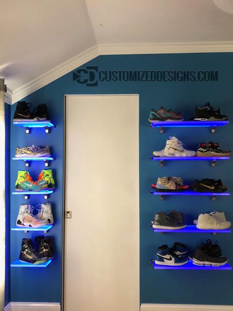 Shoe Display Shelves