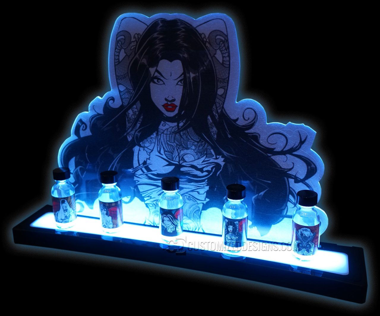 Suicide Bunny Vape Bottle Display